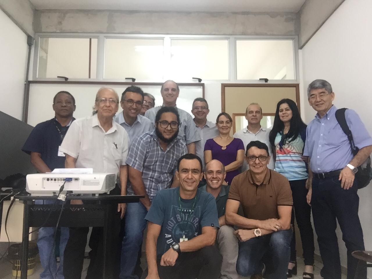Visita do Dr. Roberto Carlos Costa Lelis